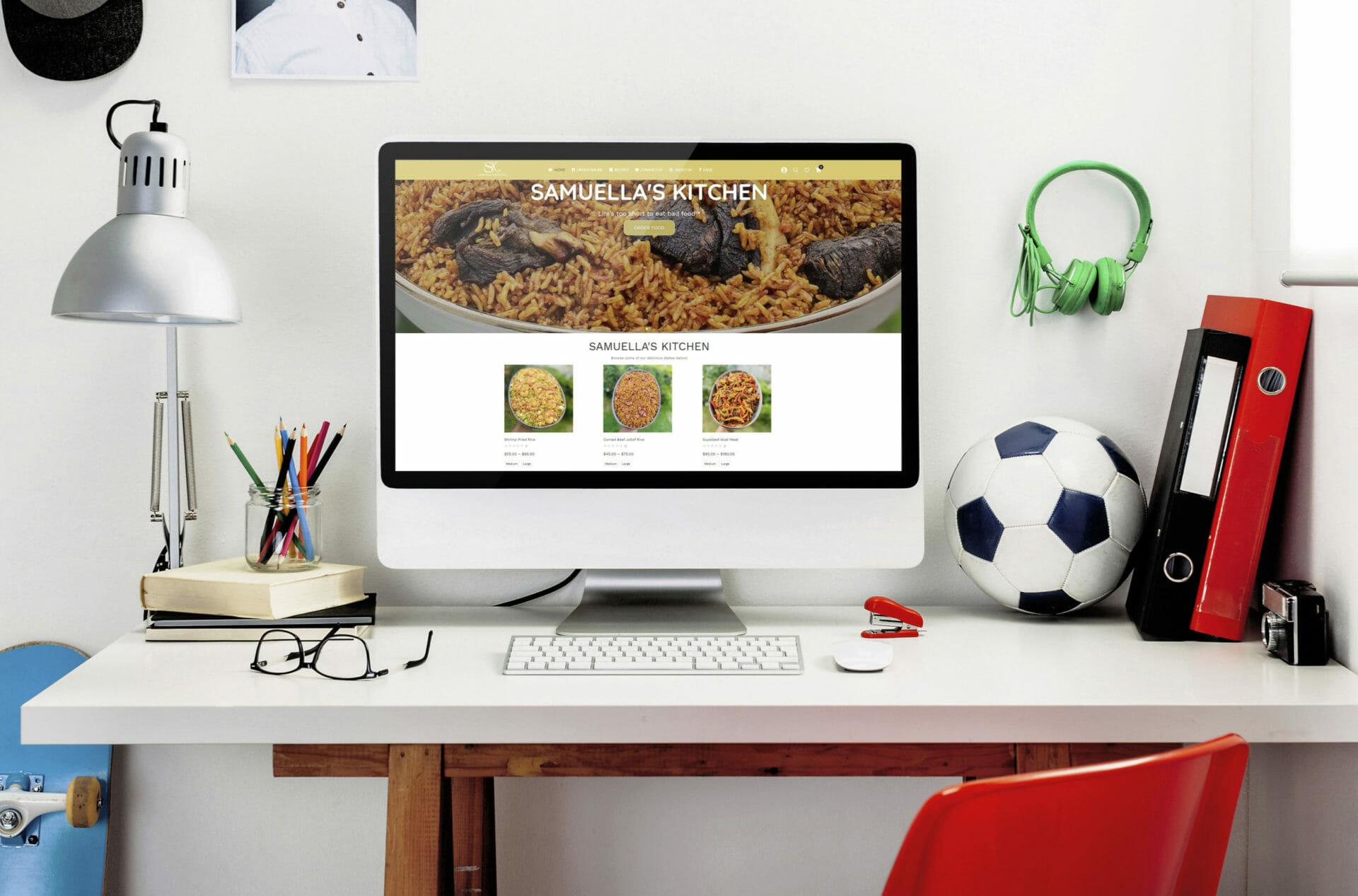 Samuella's Kitchen Online Food Shop