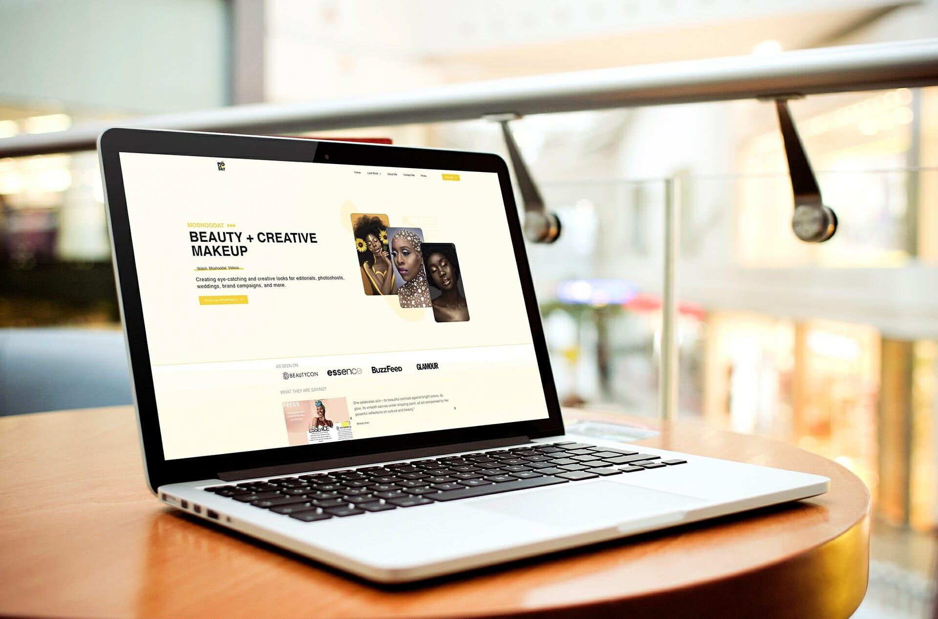 Moshoodat Beauty Website