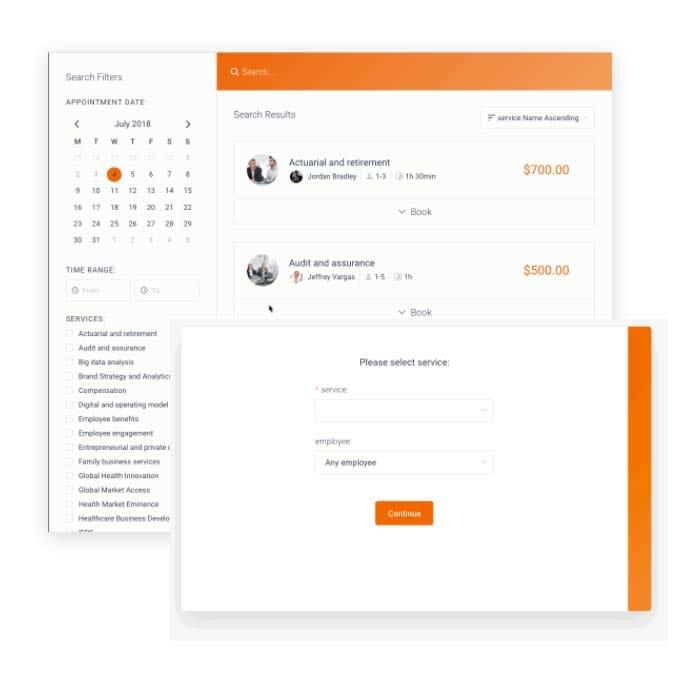 Nyarkoweb Booking Design