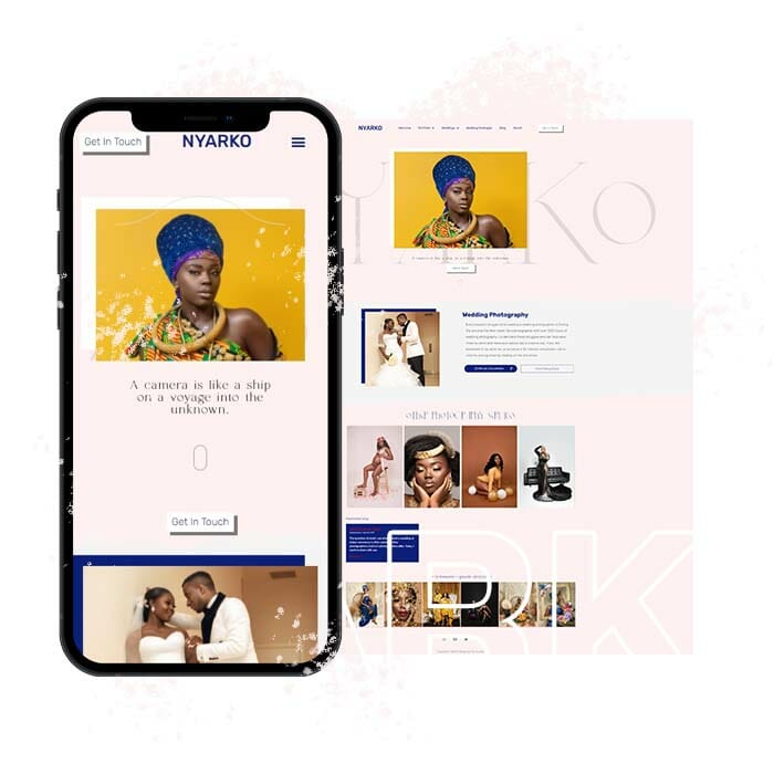 Nyarkoweb Portfolio Design